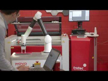 Inovo with Trotec Speedy 400 Data Plates